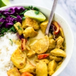 Easy Coconut Curry Chicken | Creme de la Crumb