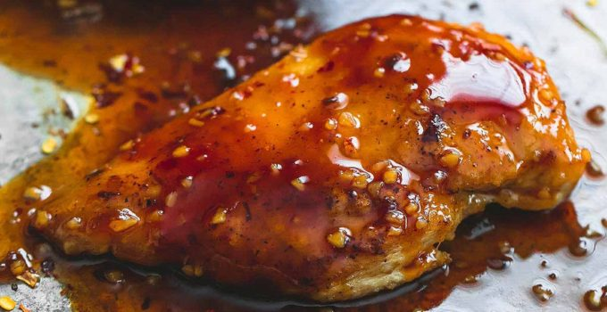 Baked Sweet & Spicy Chicken