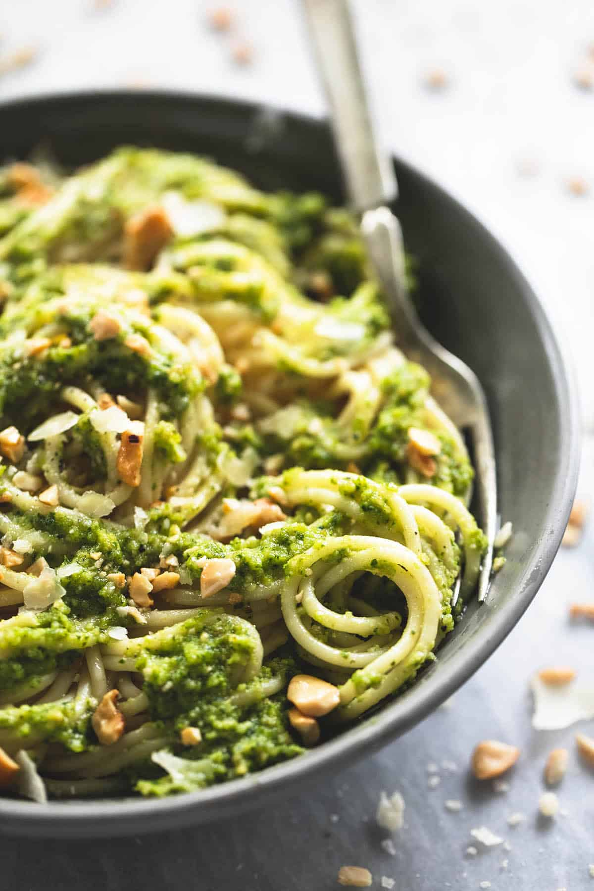 Creamy Cashew Pesto (+video)