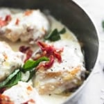 Creamy Asiago Bacon Chicken