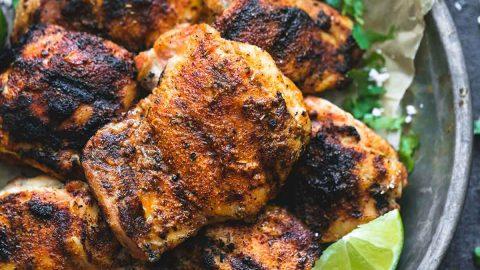 Grilled Cajun Lime Chicken | Creme De La Crumb