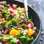 Mandarin Strawberry Quinoa Chopped Salad