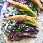 Mojo Steak Tacos