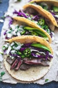 Mojo Steak Tacos | Creme de la Crumb