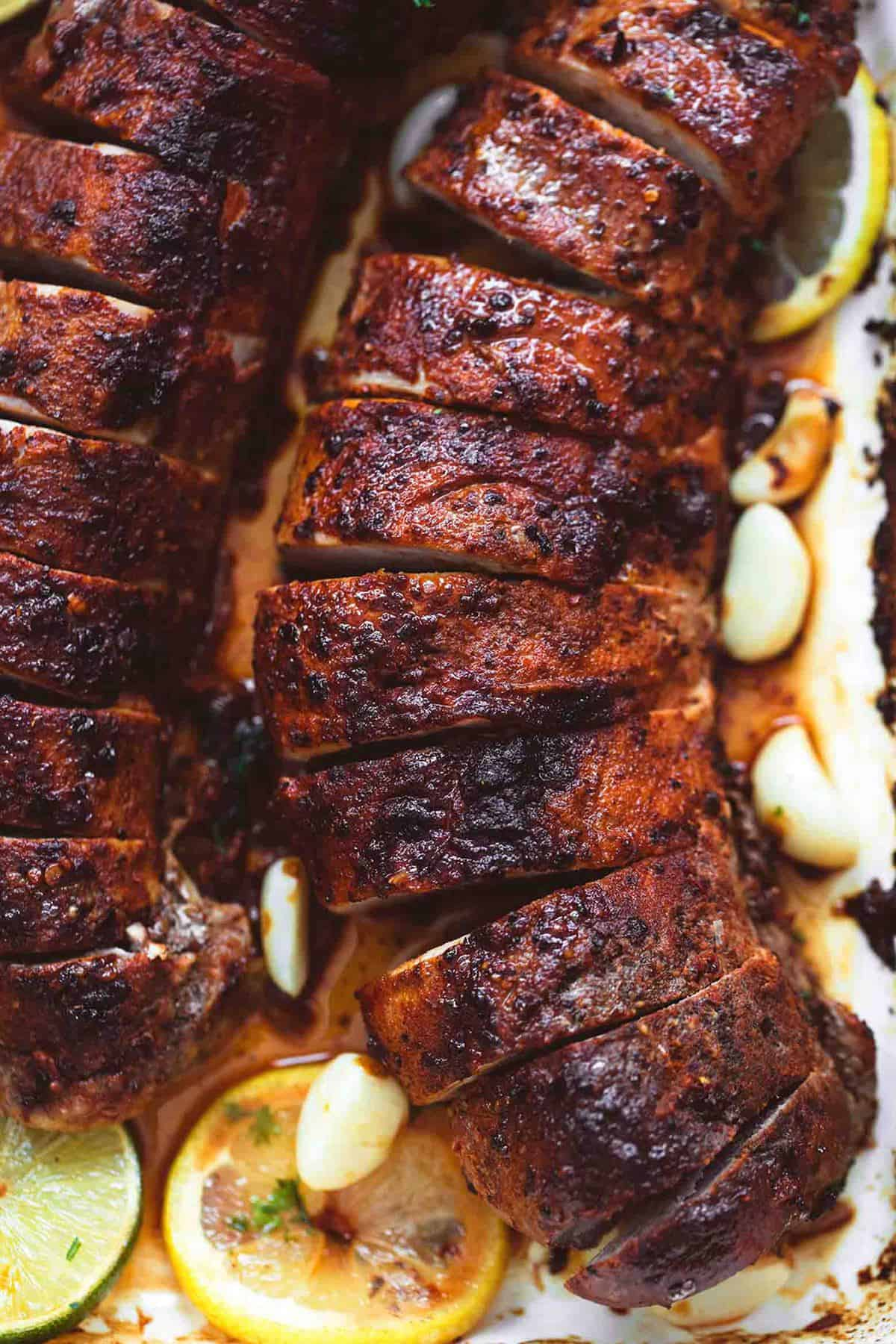 How to bake bbq pork tenderloin in oven without foil