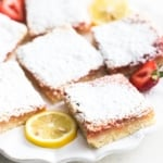 Strawberry Lemon Bars