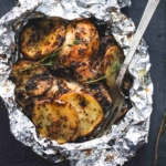 Grilled Herbed Chicken & Potato Foil Packs | lecremedelacrumb.com