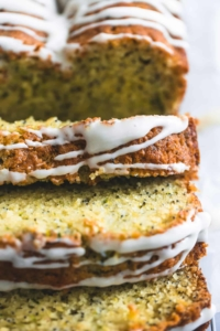 Lemon Poppyseed Zucchini Bread | lecremedelacrumb.com