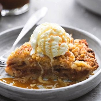 Apple Crumble Pie | lecremedelacrumb.com
