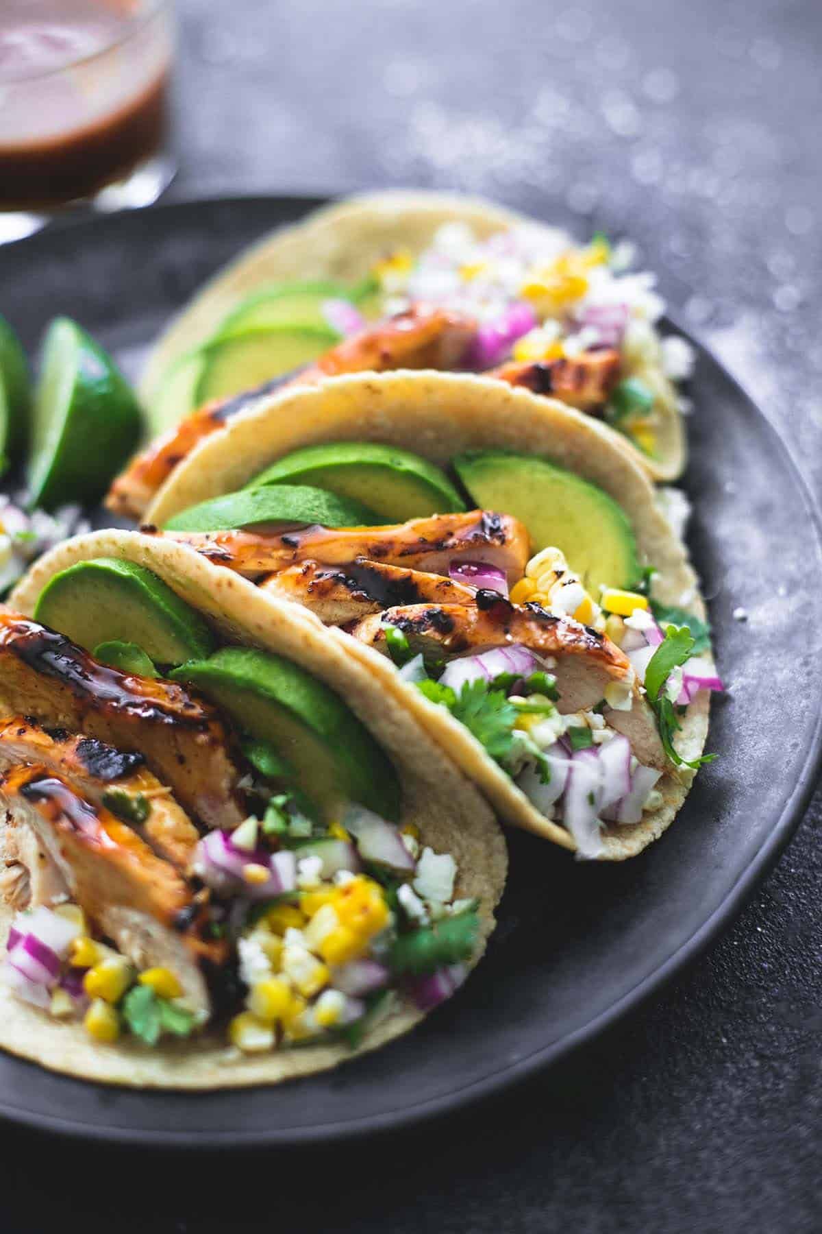 Food 1 2016 4 5 Chicken Tacos >> The Best Grilled Chicken Tacos Marinade Creme De La Crumb