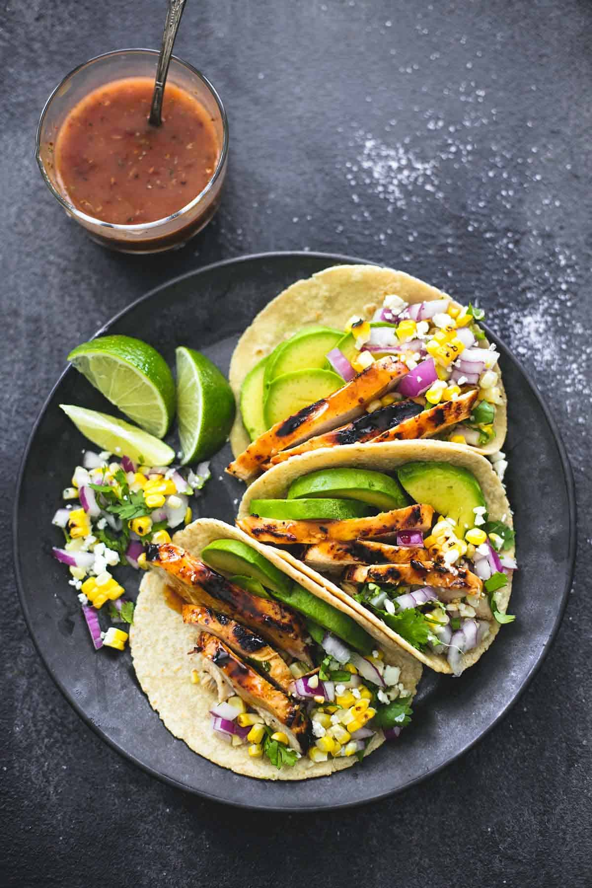 The best grilled chicken tacos marinade creme de la crumb the best grilled chicken tacos marinade lecremedelacrumb forumfinder Choice Image
