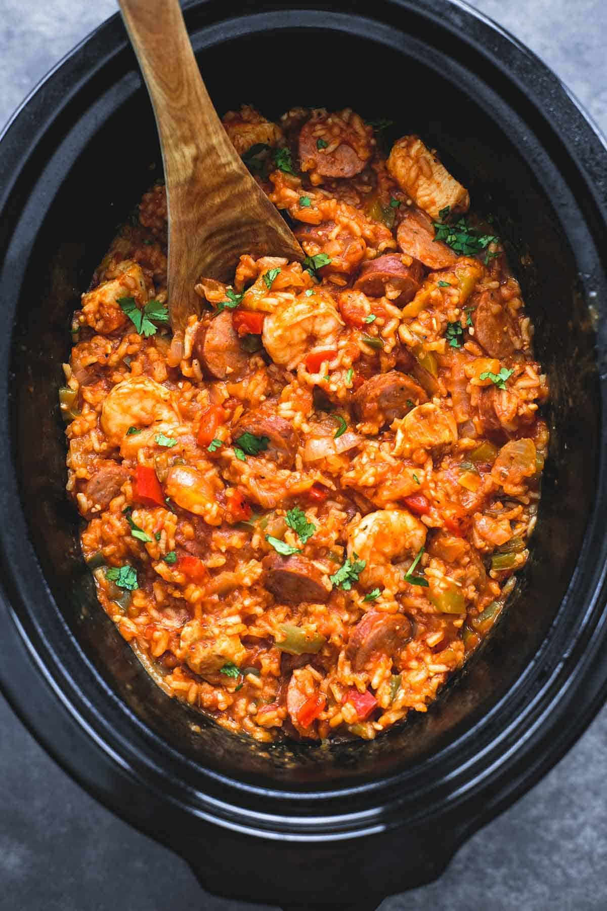 Jambalaya slow cooker easy recipes