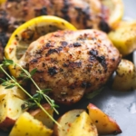 Baked Lemon Herb Chicken & Potatoes