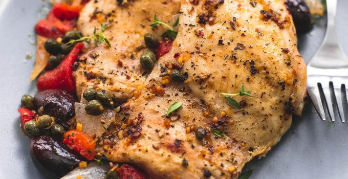 Slow Cooker Mediterranean Chicken