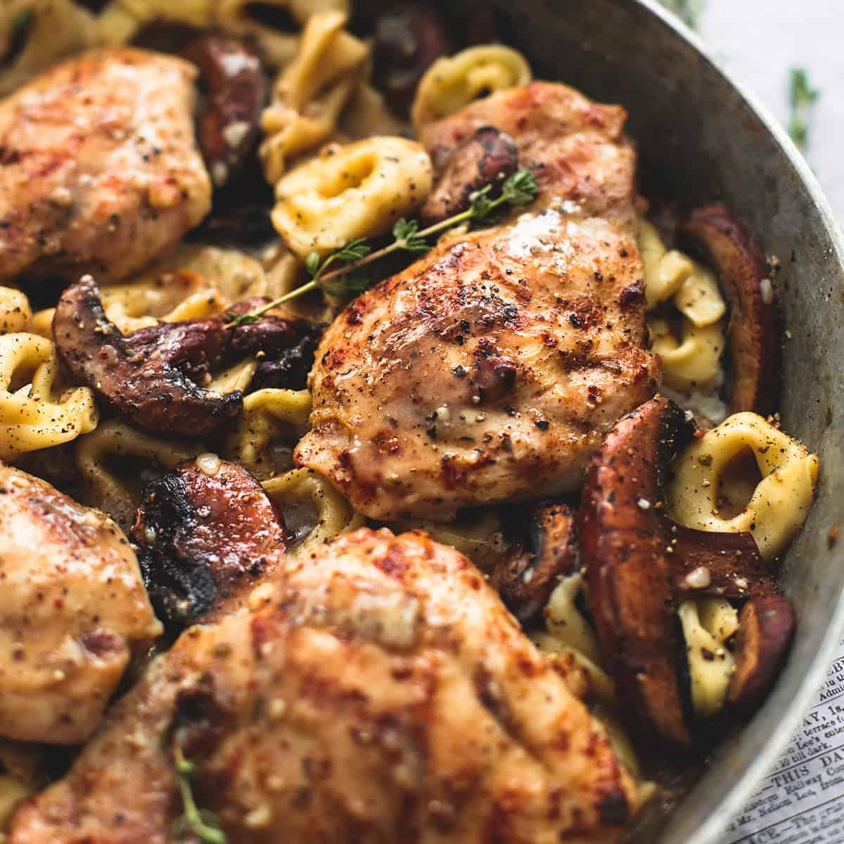 Chicken Marsala Tortellini