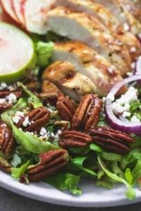 Autumn Harvest Chicken Salad | lecremedelacrumb.com