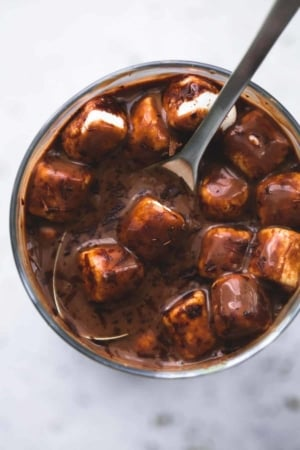 Extra Thick Hot Chocolate   lecremedelacrumb.com