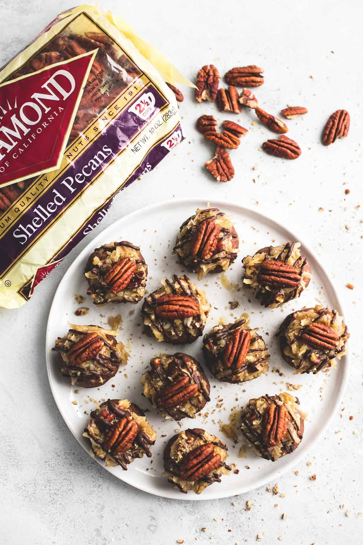 German Chocolate Cookie Balls | lecremedelacrumb.com