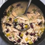 Healthy Turkey Wild Rice Soup