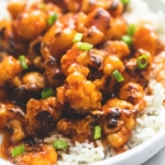 Baked Sweet & Sour Cauliflower