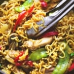 One Pot Chicken & Veggie Ramen