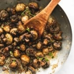 Sauteed Garlic Butter Mushrooms