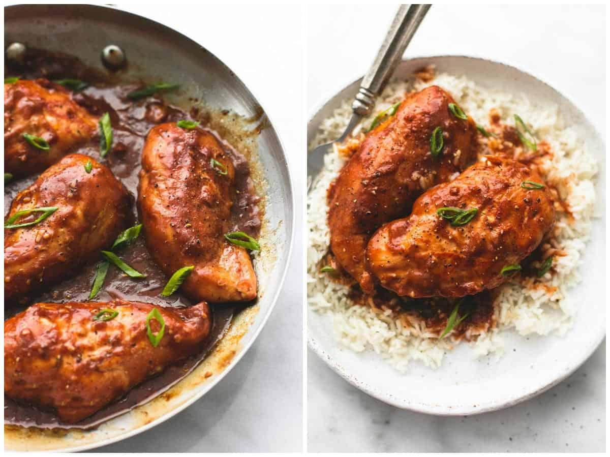 Filipino Style Chicken Adobo | lecremedelacrumb.com