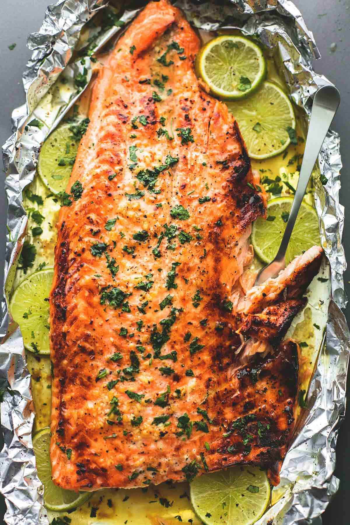 How to cook salmon in foil oven