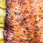 Baked Honey Lemon Garlic Salmon in Foil