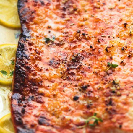 Baked Honey Lemon Garlic Salmon in Foil