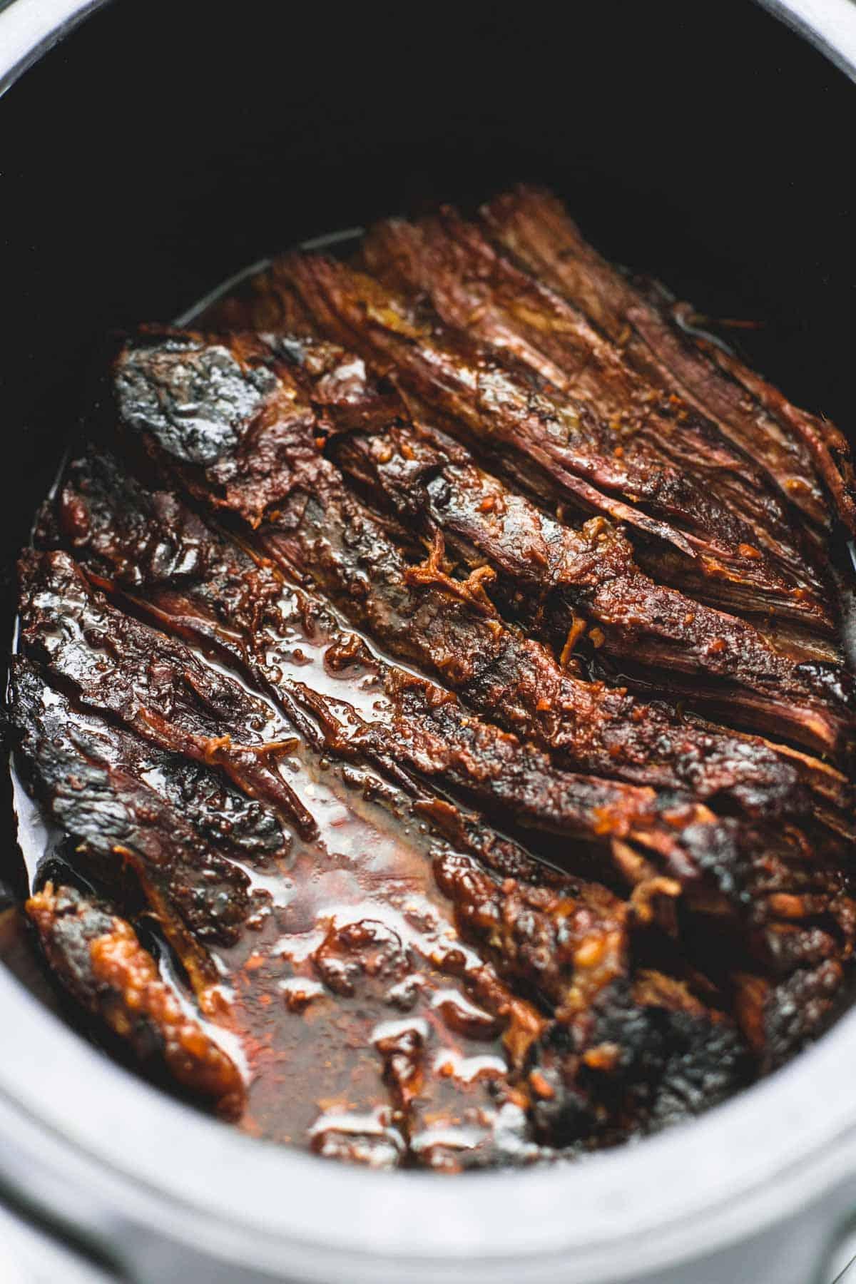 bbq beef crock pot chuck roast