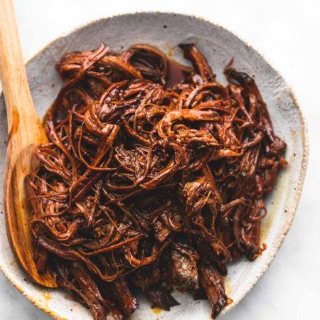 Slow Cooker Honey BBQ Beef Brisket