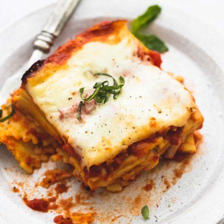 Slow Cooker Ravioli Lasagna