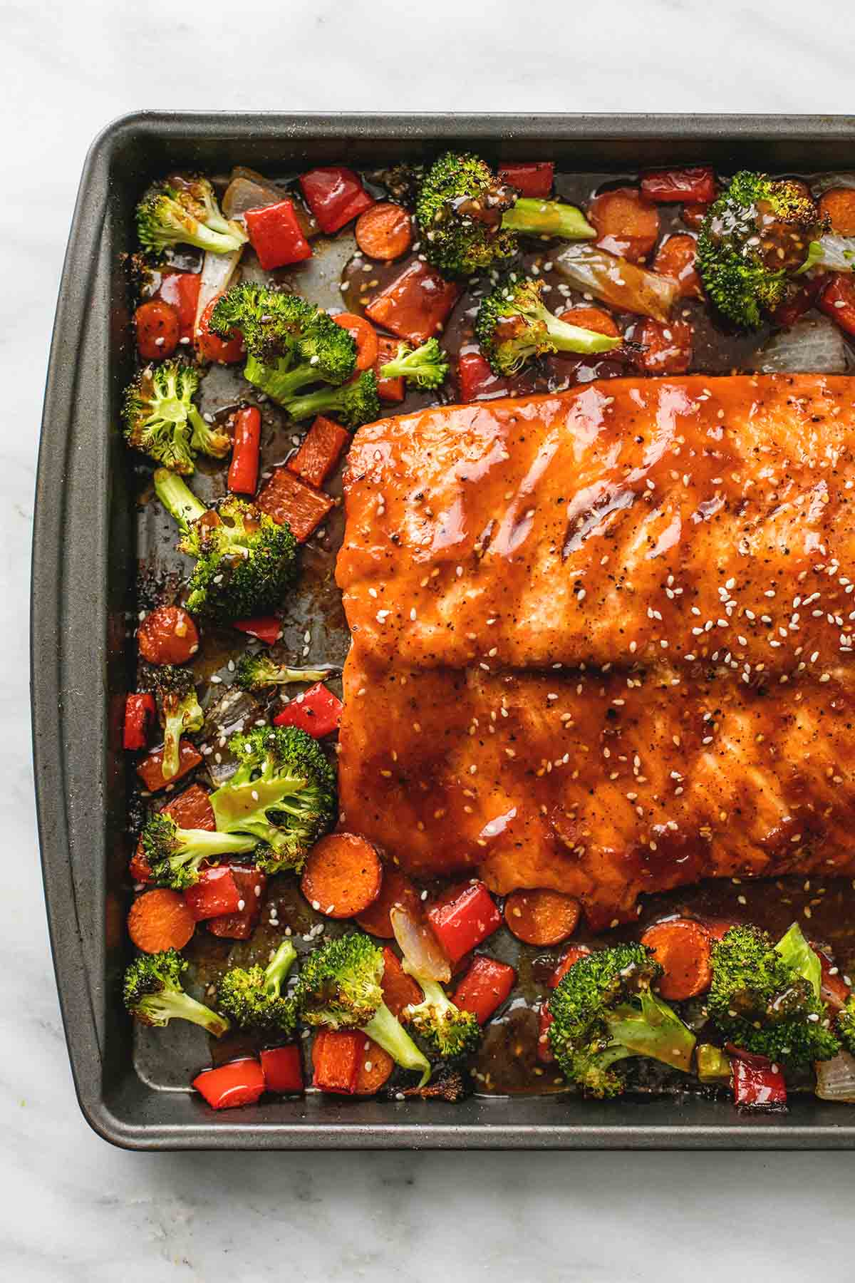 how to make salmon teriyaki in the oven