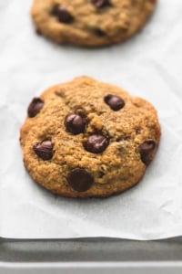BEST Ever Banana Chocolate Chip Cookies | lecremedelacrumb.com