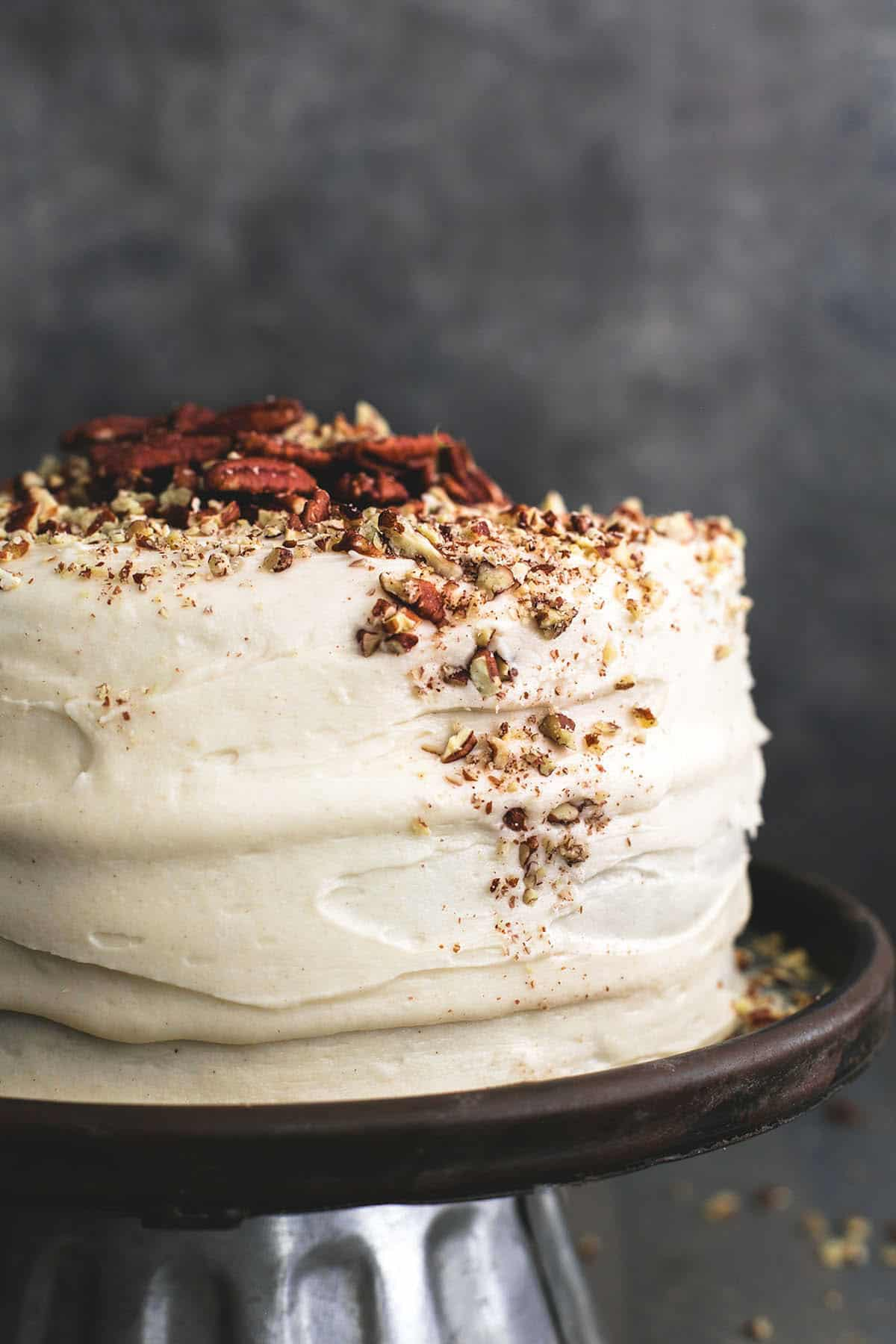 Easy Carrot Cake And Cream Cheese Frosting