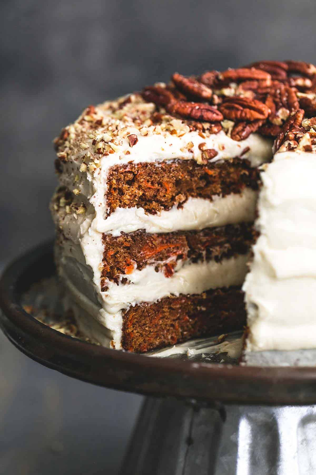 World's Best Carrot Cake with Cream Cheese Frosting | lecremedelacrumb.com