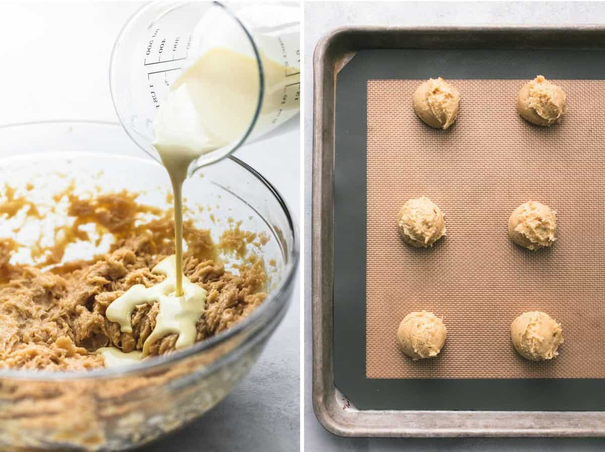 Eggnog Snickerdoodle Whoopie Pies | lecremedelacrumb.com