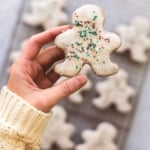 Gingerbread Sugar Cookies | lecremedelacrumb.com