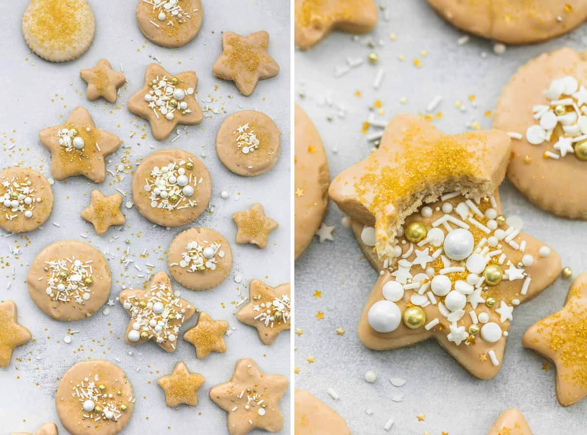 Maple Glazed Sugar Cookies | lecremedelacrumb.com