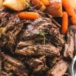 Instant Pot Pot Roast and Potatoes   lecremedelacrumb.com