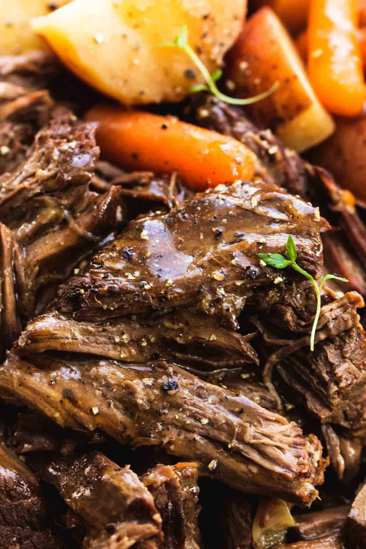 Instant Pot Pot Roast And Potatoes Creme De La Crumb