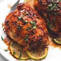 Honey Lime Garlic Chicken   lecremedelacrumb.com