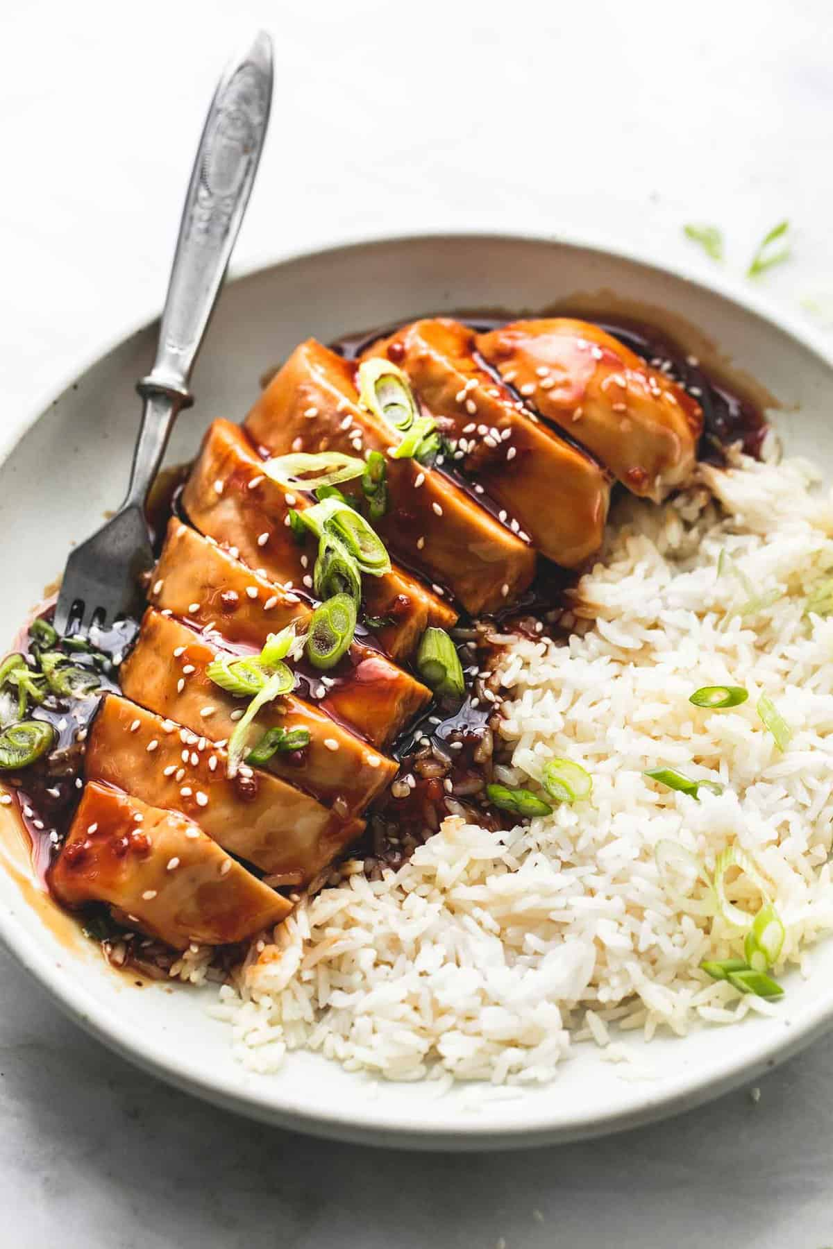 Best Ever Baked Teriyaki Chicken | lecremedelacrumb.com