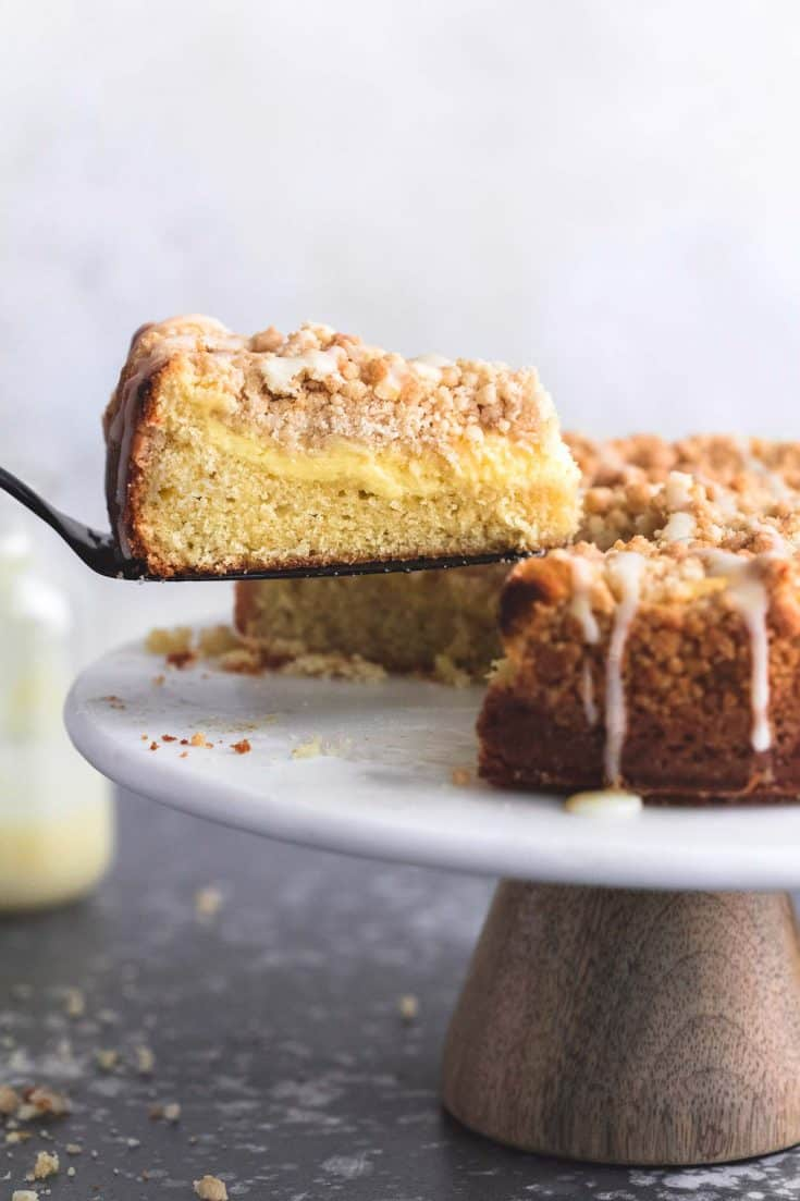 Cream Cheese Lemon Crumb Cake