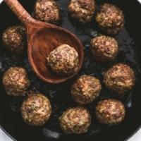 Greek Meatballs   lecremedelacrumb.com