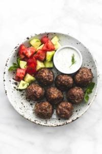 Greek Meatballs | lecremedelacrumb.com