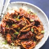 Instant Pot Honey Teriyaki Chicken | lecremedelacrumb.com