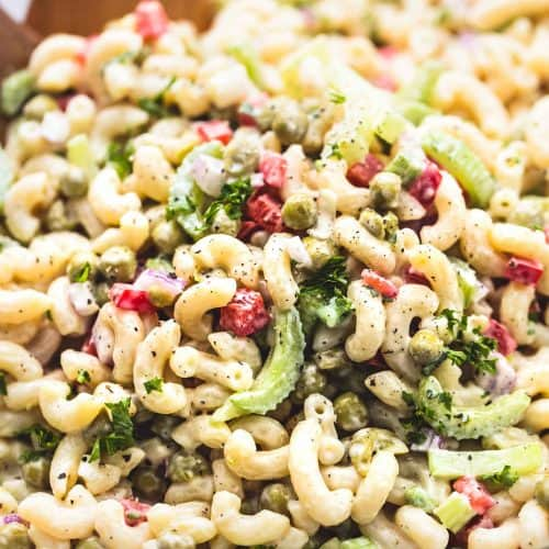 Best Ever Creamy Sweet Macaroni Salad