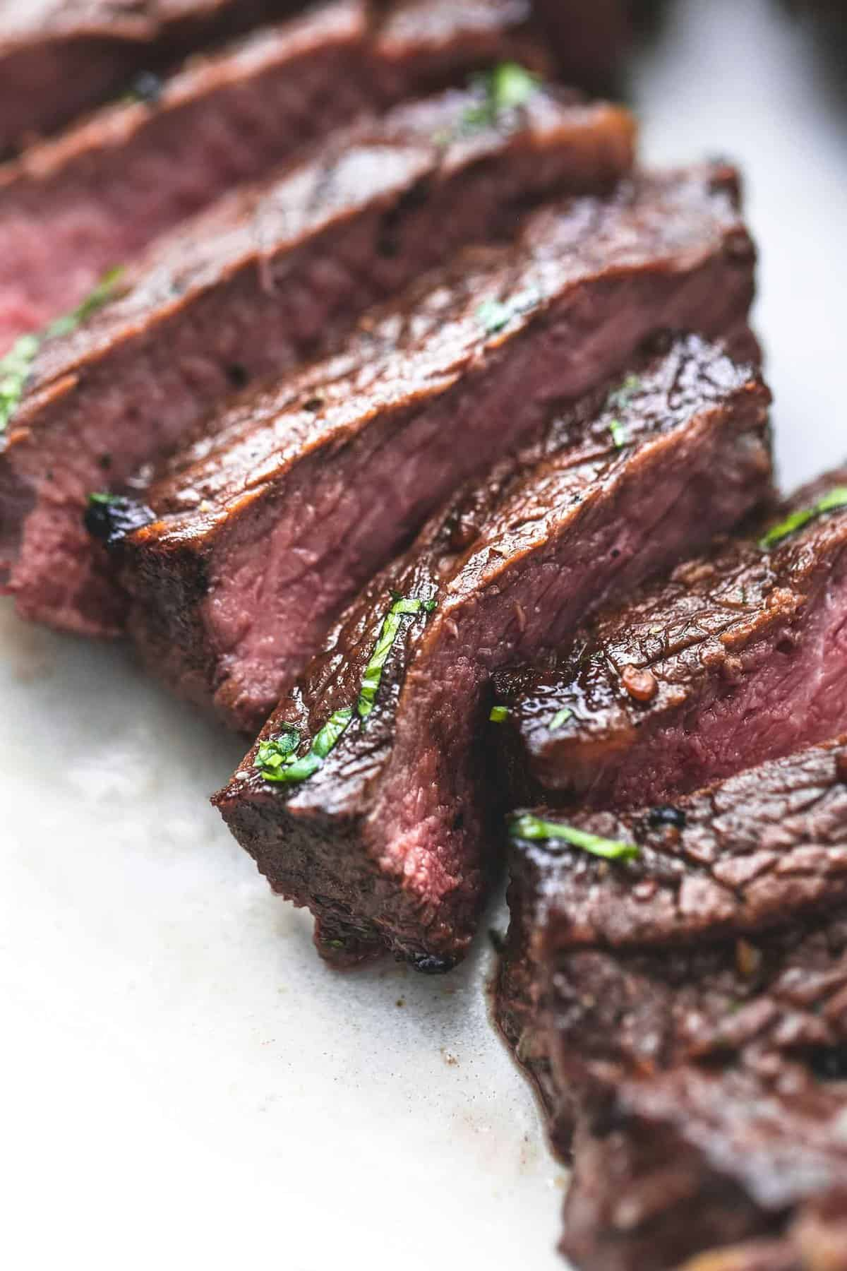 How to pan fry marinated steak tips